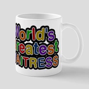 Worlds Greatest WAITRESS Mugs