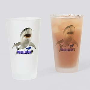 Megalodon Drinking Glass