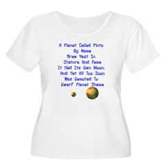 Pluto's Lament Limerick T-Shirt