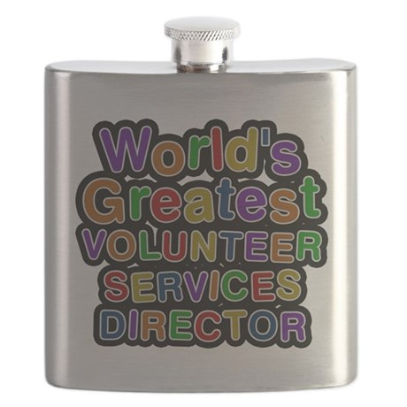 Worlds Greatest VOLUNTEER SERVICES DIRECTOR Flask