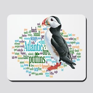 Puffins Mousepad
