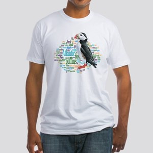 Puffins Fitted T-Shirt