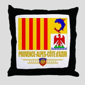 Provence-Alpes-Cote d'Azur Throw Pillow