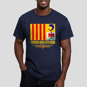 Provence-Alpes-Cote d'Azur Men's Fitted T-Shirt (d