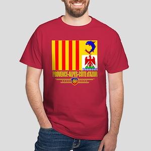 Provence-Alpes-Cote d'Azur Dark T-Shirt
