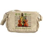 Mozart Sinfonia Concertante Messenger Bag