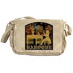 Baroque Harpsichord Messenger Bag