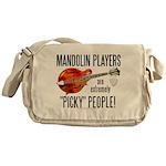 """Picky"" Mandolinist Messenger Bag"