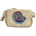 Ammonite Messenger Bag