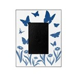 Blue Butterfly Art Picture Frame