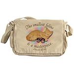 """DaVinci """"Smallest Feline"""" Messenger Bag"""
