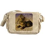 Cats in Egypt Messenger Bag