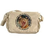 "Cats ""got no tact"" Messenger Bag"