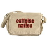 "Coffee ""Caffeine Nation"" Messenger Bag"