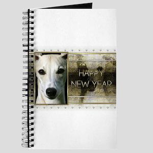 New Year - Golden Elegance - Whippet Journal