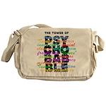 Psychobabble Messenger Bag