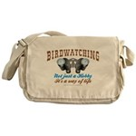 Birdwatching Way of Life Messenger Bag