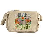Plant a Garden Messenger Bag