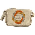 Possible with God Messenger Bag