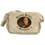 Ben Franklin Tercentenary Messenger Bag