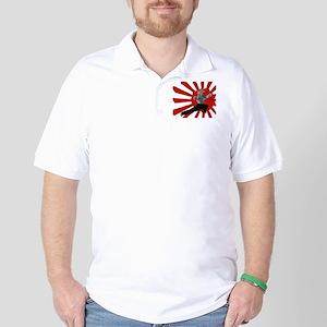Ninja Kitten Golf Shirt