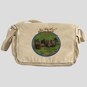 Cairn Terrier Discovery Messenger Bag