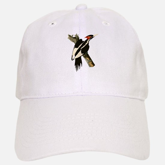 Ivory-Billed Woodpecker Baseball Baseball Cap