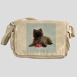 Cairn Terrier Messenger Bag