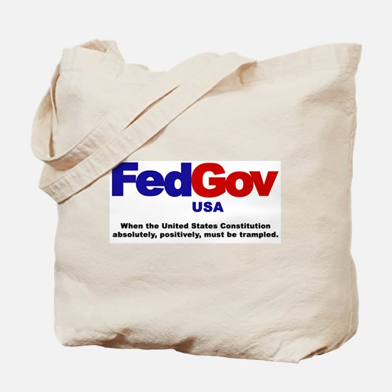 FedGov Tote Bag