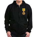 Vietnam Service Zip Hoodie (dark)