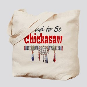 Proud to be Chickasaw Tote Bag