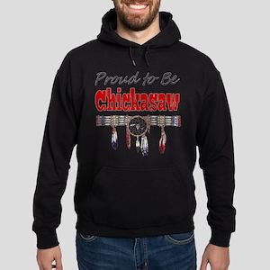 Proud to be Chickasaw Hoodie (dark)
