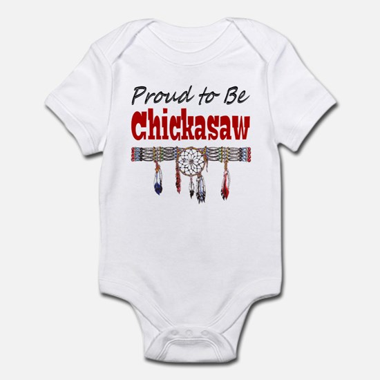 Proud to be Chickasaw Infant Bodysuit