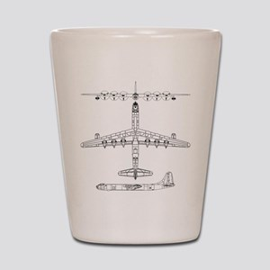 B-36 Peacemaker Shot Glass