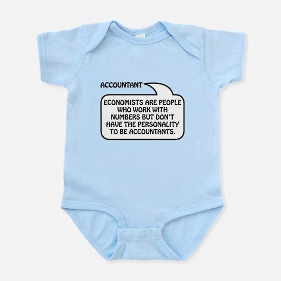 Accountant Bubble 1 Infant Bodysuit