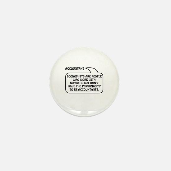 Accountant Bubble 1 Mini Button