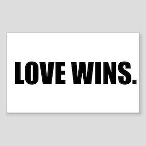 Lovewinsblack Sticker