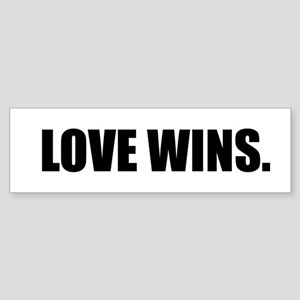 Lovewinsblack Bumper Sticker