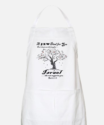 A Jew Died for You BBQ Apron