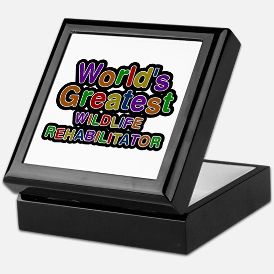 World's Greatest WILDLIFE REHABILITATOR Keepsake B