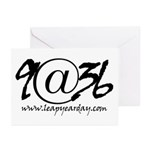 9@36 Greeting Cards (Pk of 10)