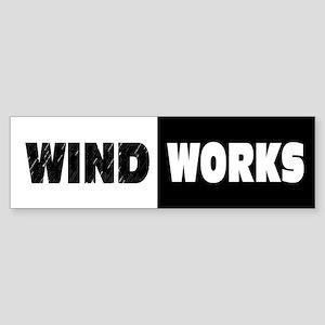Wind Works: Sticker (Bumper)