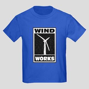 Wind Works: Kids Dark T-Shirt