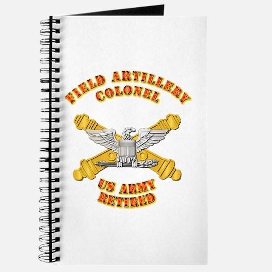 Artillery - Officer - COL - Retired Journal