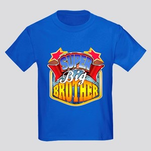 Super Big Brother Kids Dark T-Shirt