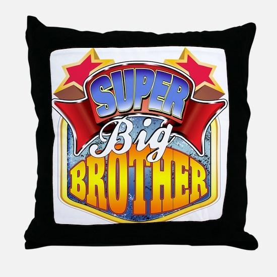 Super Big Brother Throw Pillow