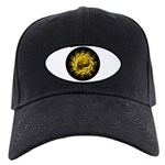 skull and hand bones Black Cap