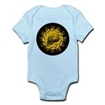 skull and hand bones Infant Bodysuit