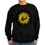 skull and hand bones Sweatshirt (dark)