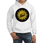 skull and hand bones Hooded Sweatshirt